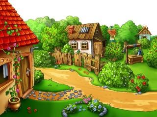 Собирать пазл Countryside in summer 2 онлайн