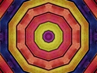 Собирать пазл Wooden fractal онлайн