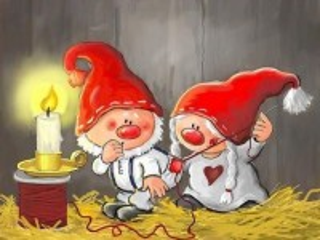 Собирать пазл Good gnomes онлайн
