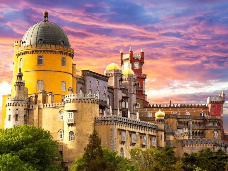 Puzzle Sammeln Puzzle Online -  Pena Palace