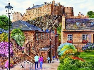 Собирать пазл Edinburg онлайн