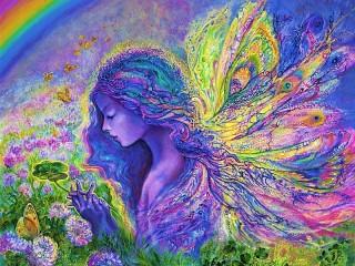 Собирать пазл Fairy butterfly онлайн