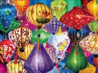 Собирать пазл Lanterns онлайн