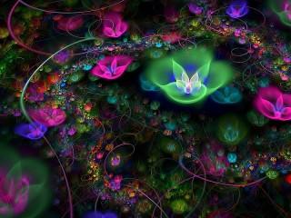 Собирать пазл Fraktal онлайн