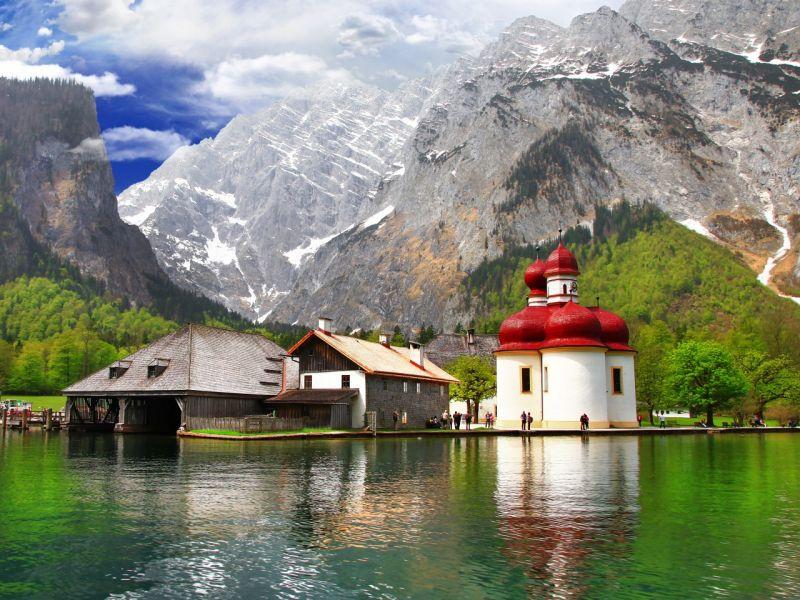 Puzzle Sammeln Puzzle Online - Germaniya Alpi