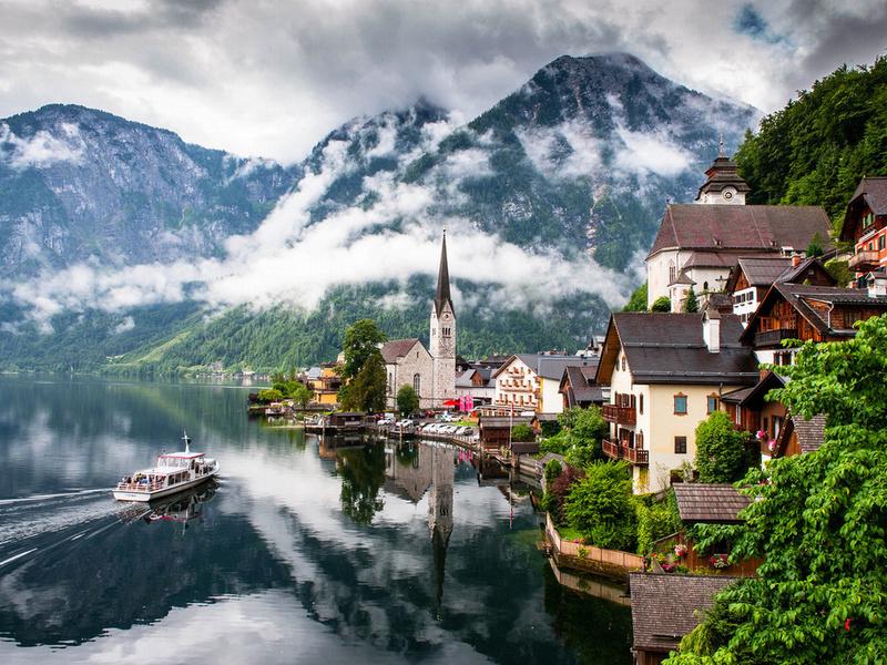Puzzle Sammeln Puzzle Online - Mountains in Austria
