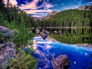 Собирать пазл Mountain lake 2 онлайн