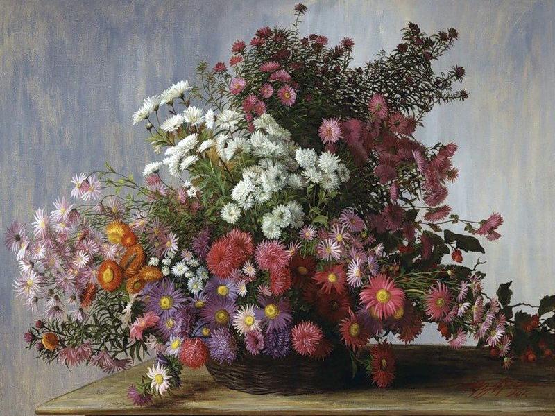 Puzzle Sammeln Puzzle Online - Chrysanthemums