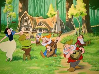 Собирать пазл Picture of snow white онлайн