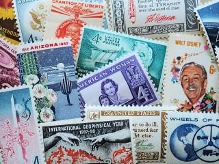 Собирать пазл Stamps онлайн
