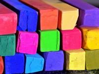 Собирать пазл Crayon collection онлайн