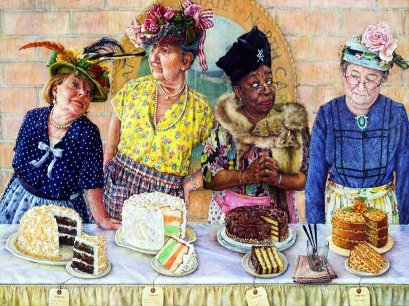 Puzzle Sammeln Puzzle Online - Cake competition