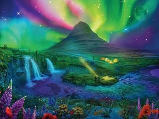 Собирать пазл Cosmic fantasy онлайн