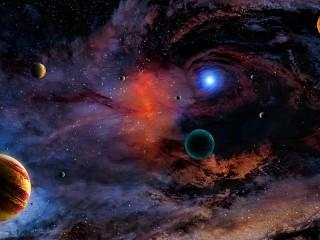 Собирать пазл Space онлайн