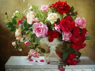 Собирать пазл Beautiful bouquet онлайн