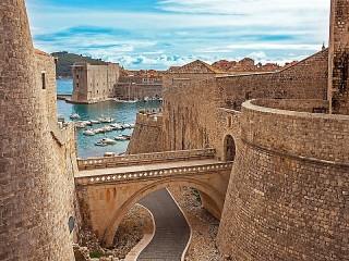 Собирать пазл Fortress in Croatia онлайн