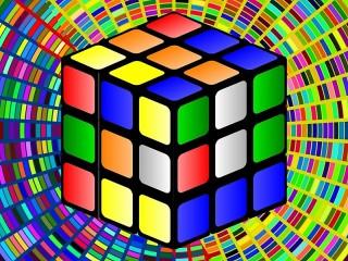 Собирать пазл Rubik's Cube онлайн