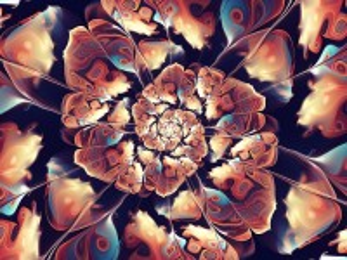 Собирать пазл Petal spiral онлайн