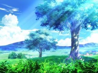 Собирать пазл forest blue онлайн