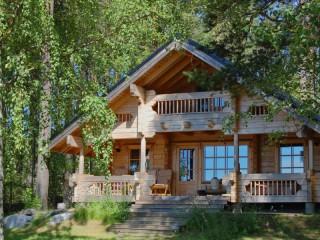 Собирать пазл Forest house онлайн