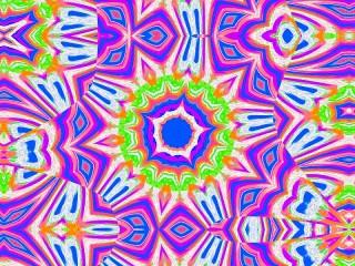 Собирать пазл Purple kaleidoscope онлайн