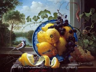Собирать пазл Limoni i vinograd онлайн