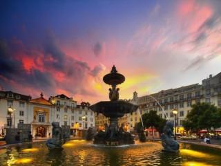 Собирать пазл Lisbon. Portug онлайн