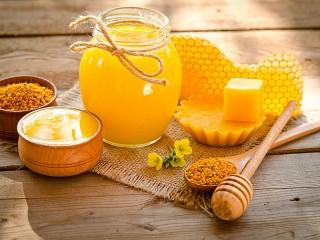 Собирать пазл Honey still life онлайн