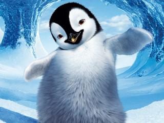 Собирать пазл Cute penguin онлайн