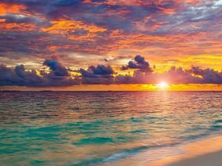 Собирать пазл Sea horizon онлайн