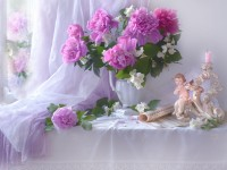 Собирать пазл Music for flowers онлайн