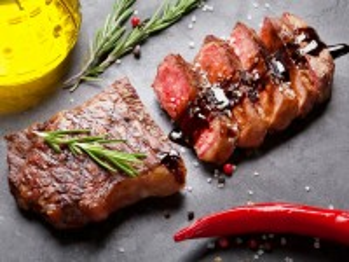 Собирать пазл Meat steak онлайн