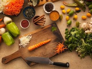 Собирать пазл Cut carrots онлайн