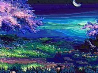 Собирать пазл Night tale онлайн