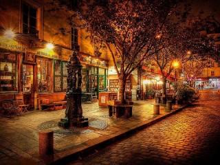 Собирать пазл Night city онлайн