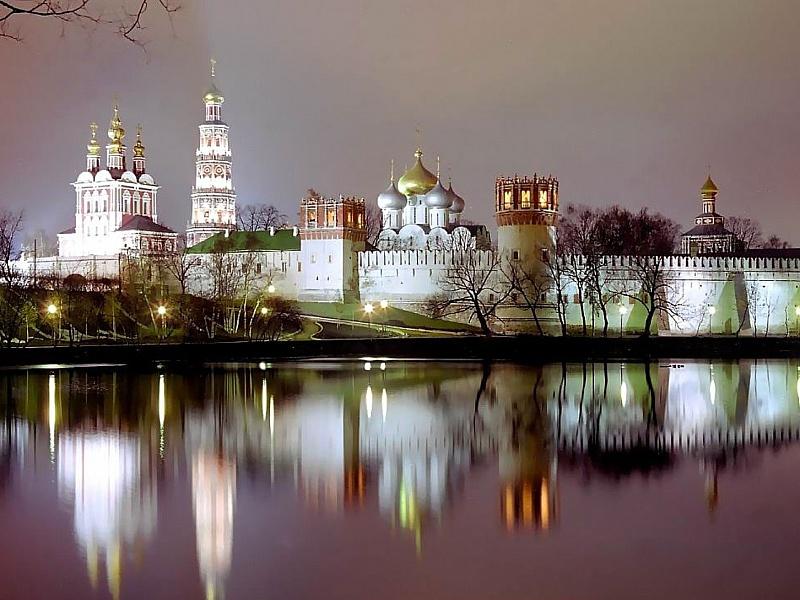 Puzzle Sammeln Puzzle Online - novodevichiy monastir