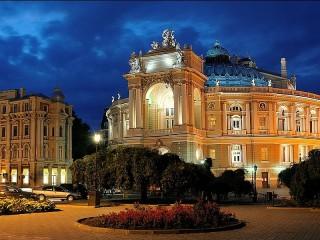 Собирать пазл Odessa theatre of онлайн
