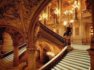 Собирать пазл Opera by candlelight онлайн