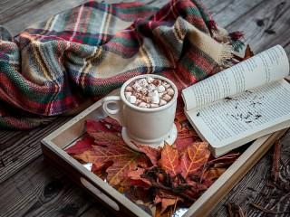 Собирать пазл Autumn chocolate онлайн