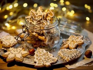 Собирать пазл Cookies in a jar онлайн