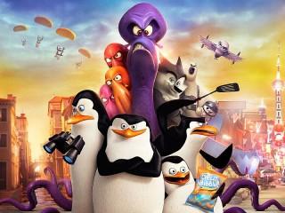 Собирать пазл Madagascar penguins онлайн