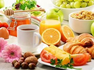 Собирать пазл Nutritious breakfast онлайн