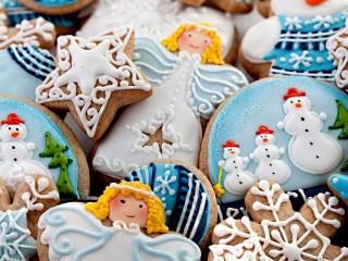 Собирать пазл Gingerbread for Christmas онлайн