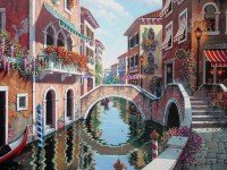 Собирать пазл Randevu v Venetsii онлайн