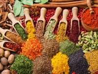 Собирать пазл Variety of spices онлайн