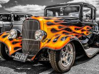 Собирать пазл Vintage car онлайн