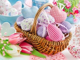 Собирать пазл Crafts for Easter онлайн
