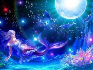 Собирать пазл Mermaid онлайн
