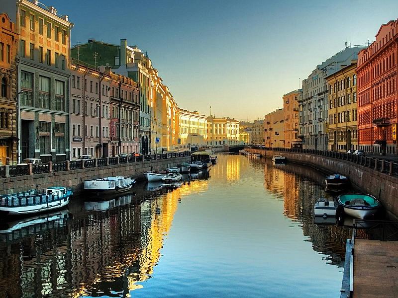 Puzzle Sammeln Puzzle Online - Sankt-Peterburg