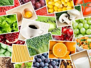 Собирать пазл Edible collage онлайн